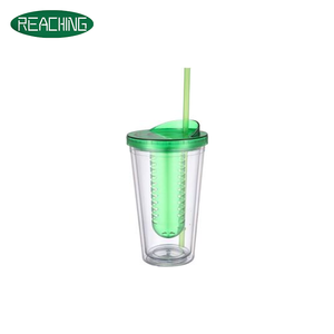 OEM Available Double Wall Cheap Tumbler Cups With Infuser