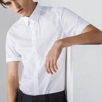 de moda para hombre de manga corta de bush corte casual