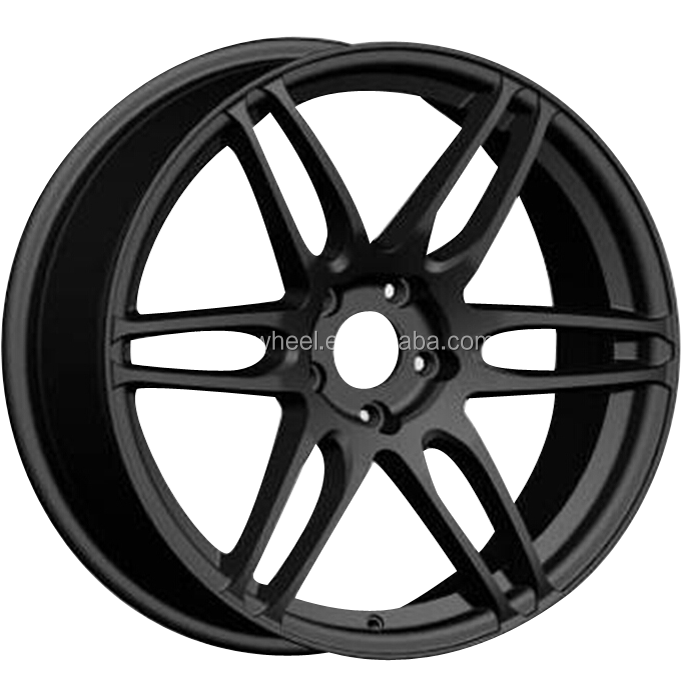 Alloy Wheels 19 Inch Black Matt After Market Aluminium Alloy Wheel ...