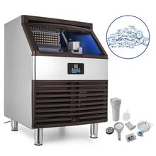 Commerciële Ice Maker 800 W Rvs Ice Cube Maker <span class=keywords><strong>Machine</strong></span> 440LBs Ijs <span class=keywords><strong>Making</strong></span> <span class=keywords><strong>Machine</strong></span>