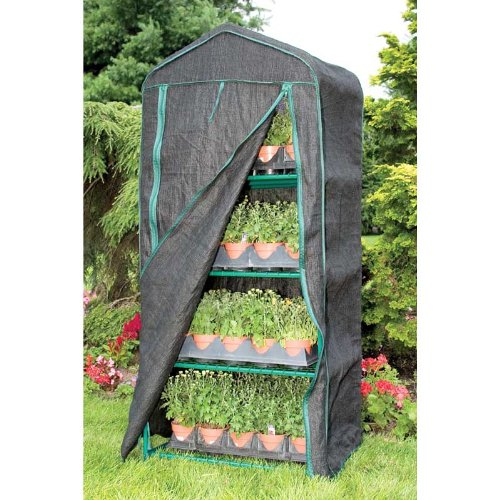 4-Season, 4-Tier Mini Greenhouse