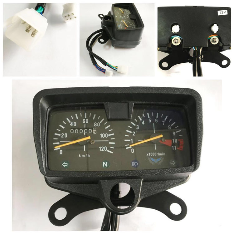 Good quality and cheap motorcycle instrument CG125 Motorcycle Speedometer