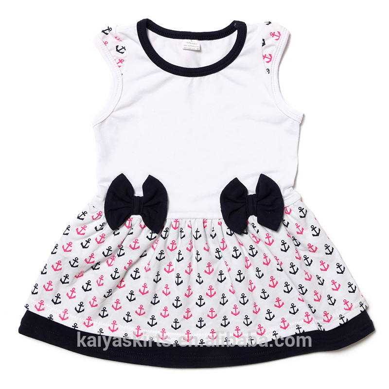 c661896266d 2017 Latest Sleeveless Tank Little Baby Frock Designs For Girls ...