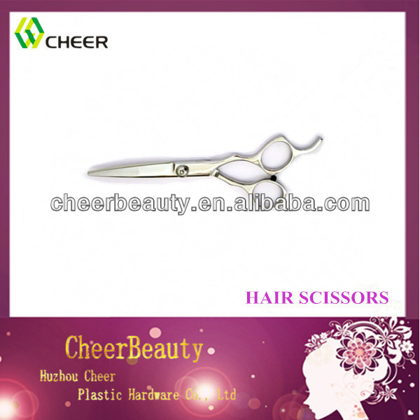 hot Professional Barber scissor Razor Edge Hair cutting baber scissor with thumb support