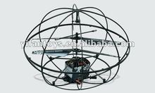 USB and gyro 3CH high speed mininature rc flying ball RC helicopter with camera