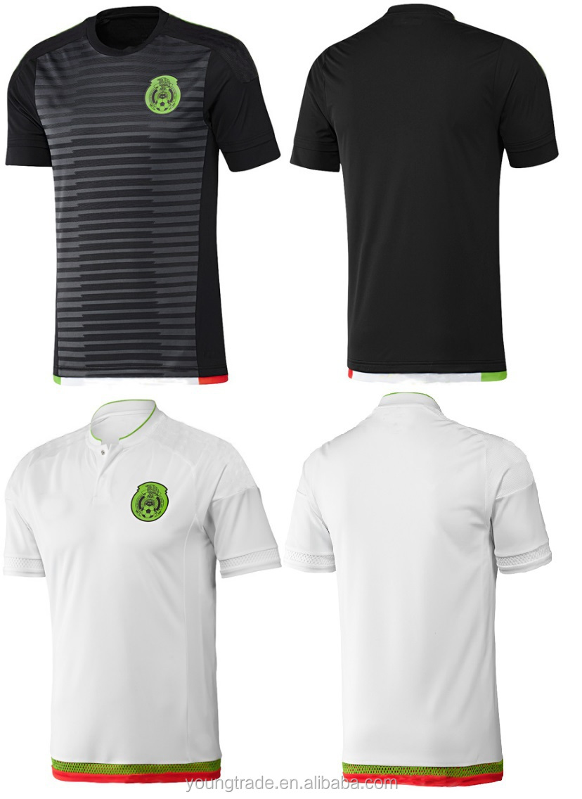 away green soccer jersey wholesale 2015 2016 thailand quality mexico soccer jersey