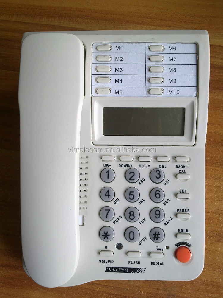 Cheap Analog Handset Kxt-838 Telephone