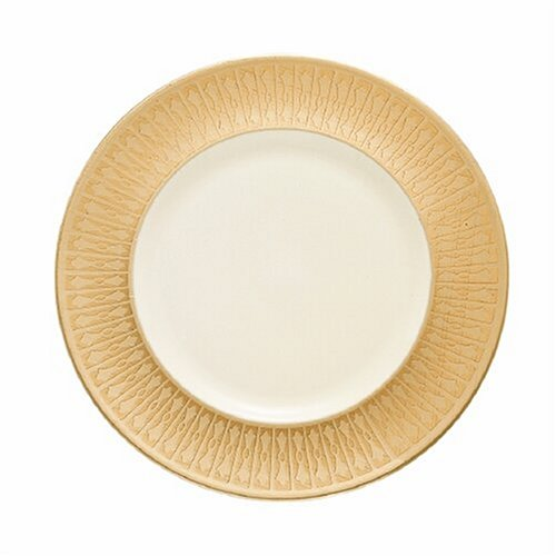 Lenox Tuxedo Gold Banded Ivory China 9 Accent Plate