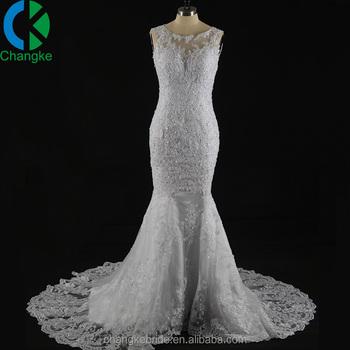 b8099f8f7ad 2018 Latest Design Elegant Alibaba Bridal Gown Mermaid Wedding Dress with  beaded Lace Appliqued