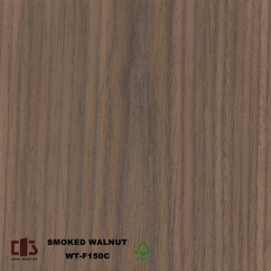 Smoke Walnut wood veneer Wood Veneer 0.6mm veneer door panel