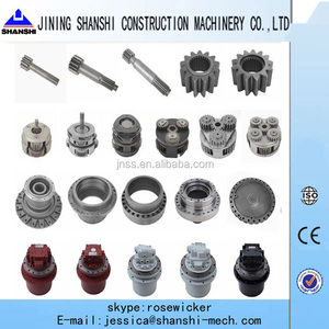 Excavator travel reduction,travel reducer,carrier assy, planetary gear, sun gear, PC60-6,PC75,PC100-5-6,PC120-5-6