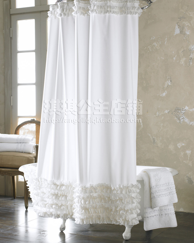 Window Treatment Ideas For Bathrooms 온라인 구매 도매 화이트 샤워 커튼 중국에서 화이트 샤워 커튼 도매상 Aliexpress Com
