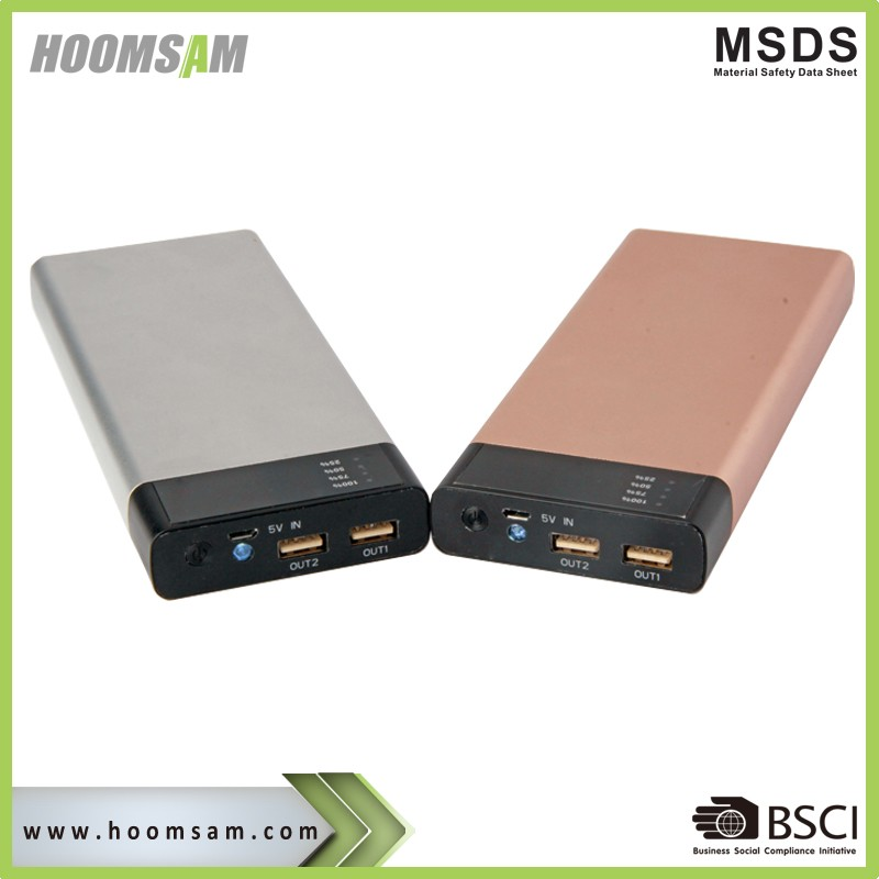 BSCI manufacturer 2017 new high capacity power bank 20000mah powerbank LED display
