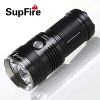 Supfire 30W 2000lumens bright rechargeable torch M6 with 3* CR U2 LED