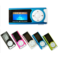 2016 Brand New Mini USB Clip LCD Screen MP3 Music Player with Earphone Power Cable Support