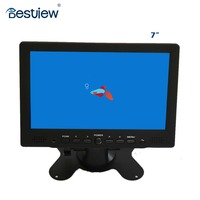 widescreen 7 inch car lcd monitor with hdmi input