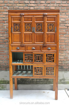 Chinese Antique Solid Wood Season Cabinet/Wardrobe & Chinese Antique Solid Wood Season Cabinet/wardrobe - Buy Chinese ...