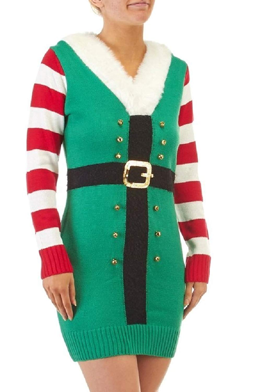 Christmas Sweater Dresses for Juniors