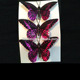 Handmade Butterfly Christmas Tree Ornaments Colourful Artificial Butterfly Decoration
