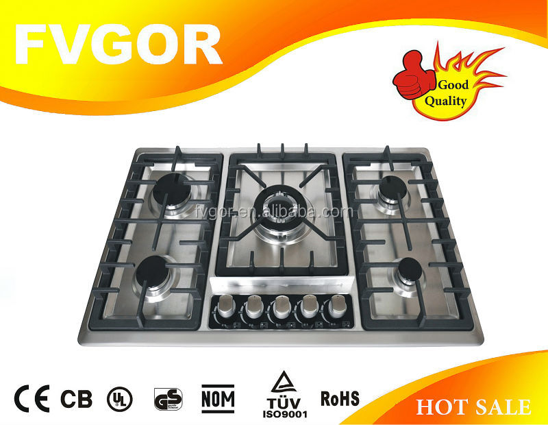BEST CHOOSE!l gas hob protectors with 5 burner FA588