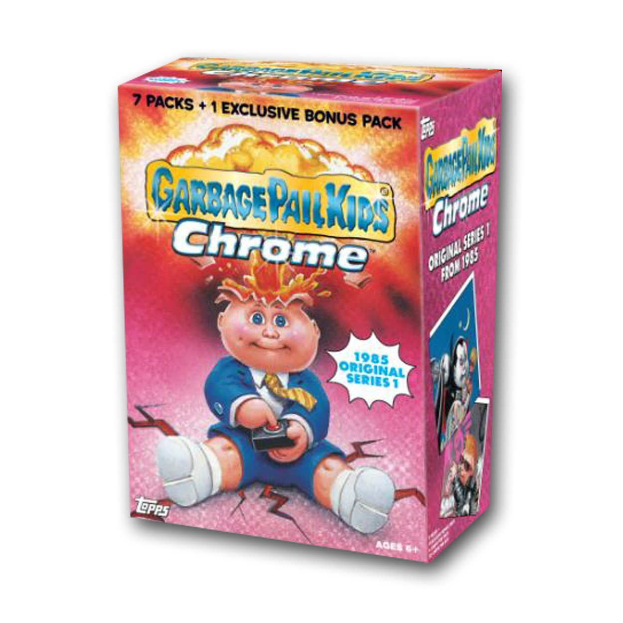 Garbage Pail Kids 2013 Chrome Value Box, 7 Packs and 1 Exclusive X-Factor Pack!