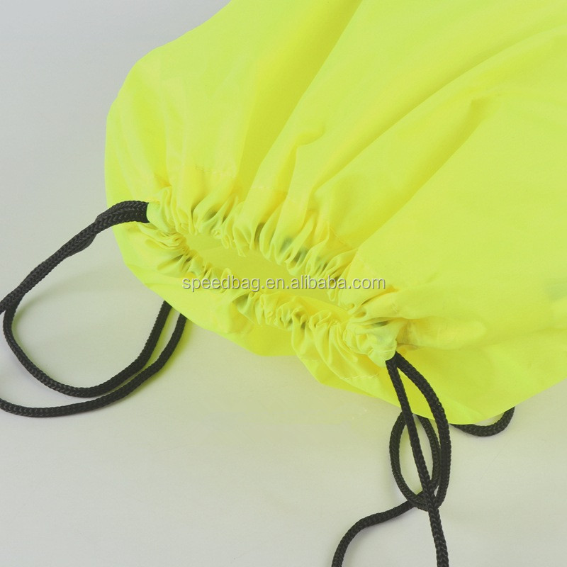 Cheap eco friendly reflective drwastring bag
