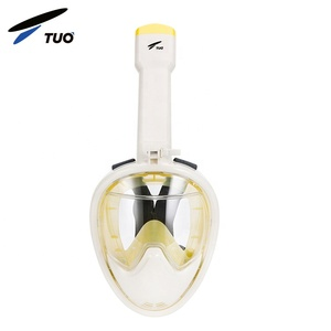 Best Seller Diving Snorkel Mask Full Face 180 Panoramic Anti Fog Snorkel Mask Set For Kids And Adult