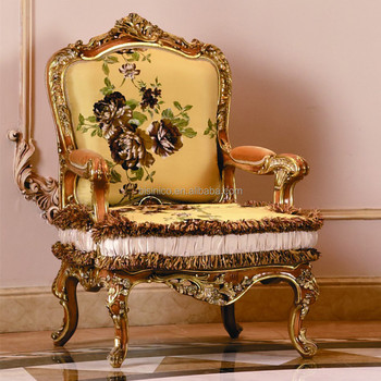 Luxury French Style Living Room Furniture/retro Palace Upholstered ...