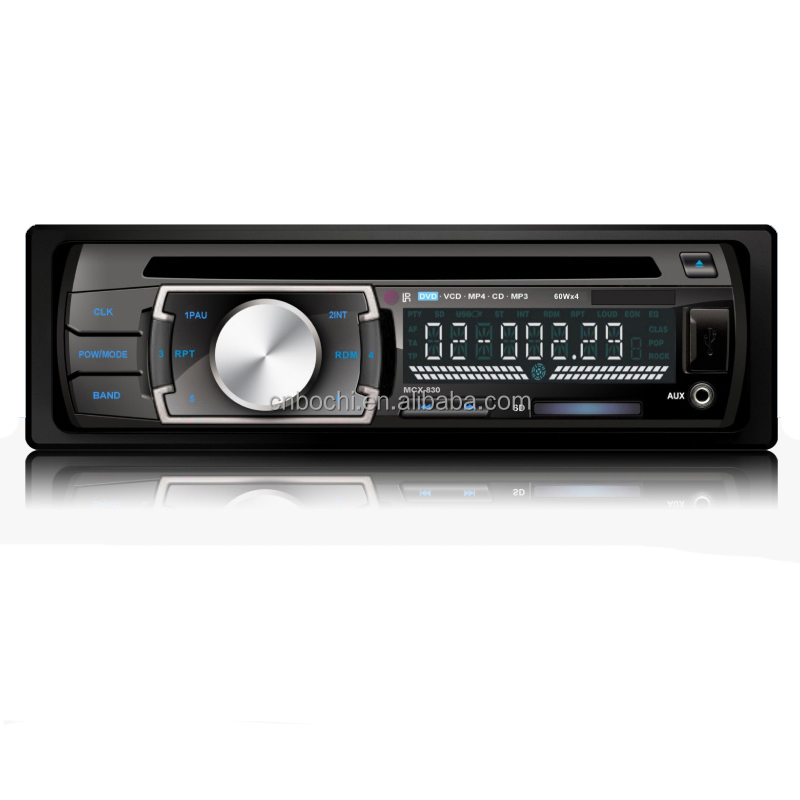AM/FM/MPX Stereo Receiver with Max Power 65W 1 DIN CD Player