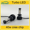 Car accessories 12v 40w High power Led 5000LM H7 Led Headlight