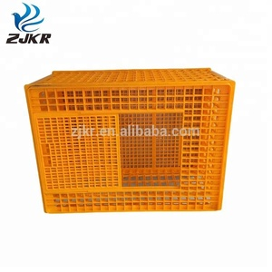 Light weight good quality plastic coop livestock chicken transport cage