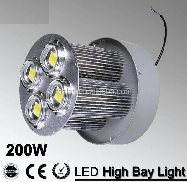 50w High Power Led Bay Light Optical Glass Lens