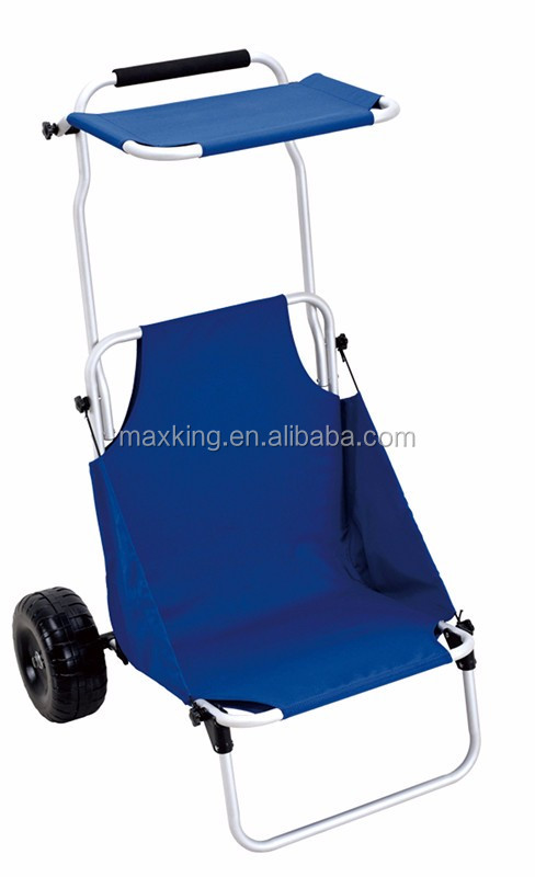 2016 hot sale beach trolley fishing chair trolley double for Fishing carts for sale