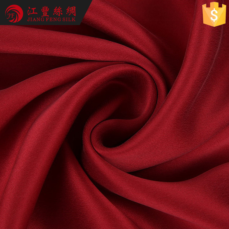 G16 2017 Most Hot Selling 100 Pure Silk Charmeuse Fabric