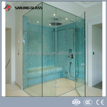 6mm Laminated Glass For Bathroom Glass Partition