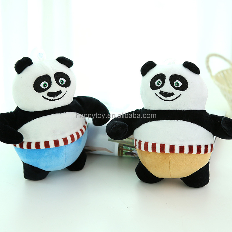 China custom cartoon character stuffed toy plush toy kungfu Panda