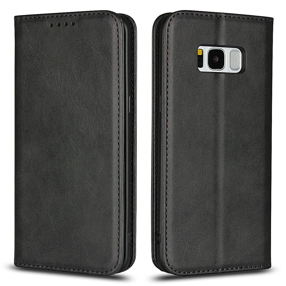 Scheam for Samsung Galaxy S Lite Luxury Edition Samsung Galaxy S8 Case, [Extra Card Slot] [Wallet Case] PU Leather TPU Casing Replacement [Drop Protection] Case Compatible with Samsung Galaxy S Lite