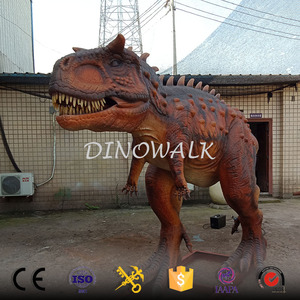 DW-0165 High Quality Mechanical Animatronic Dinosaur carnotaurus model,Museum Animatronic Dinosaur