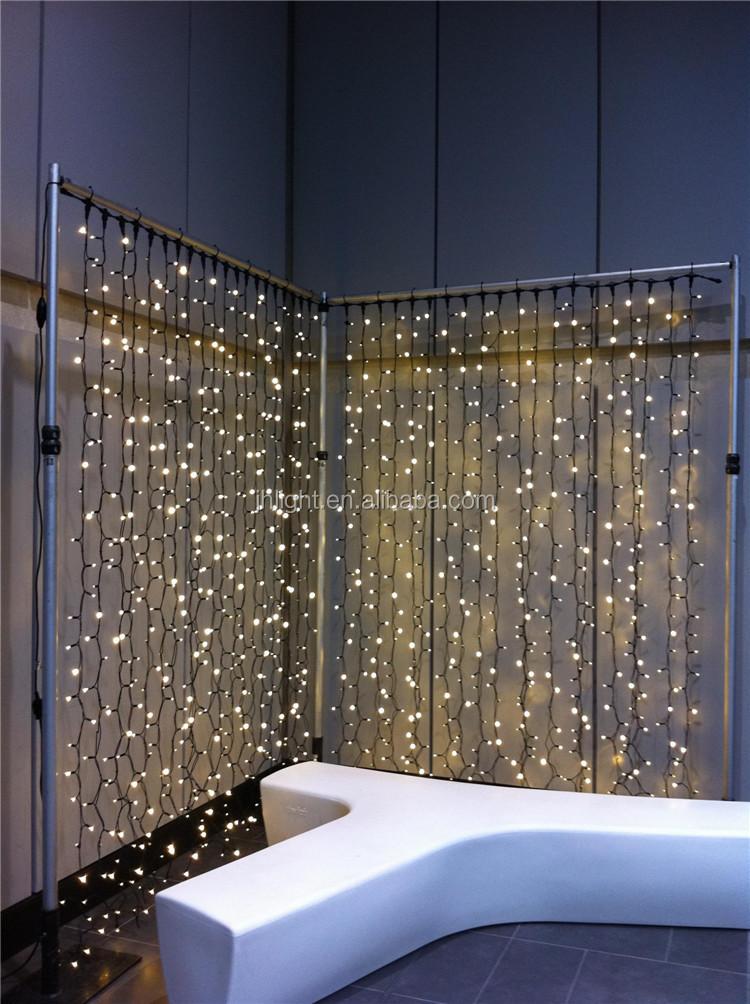 Curtain Lights Fading Christmas
