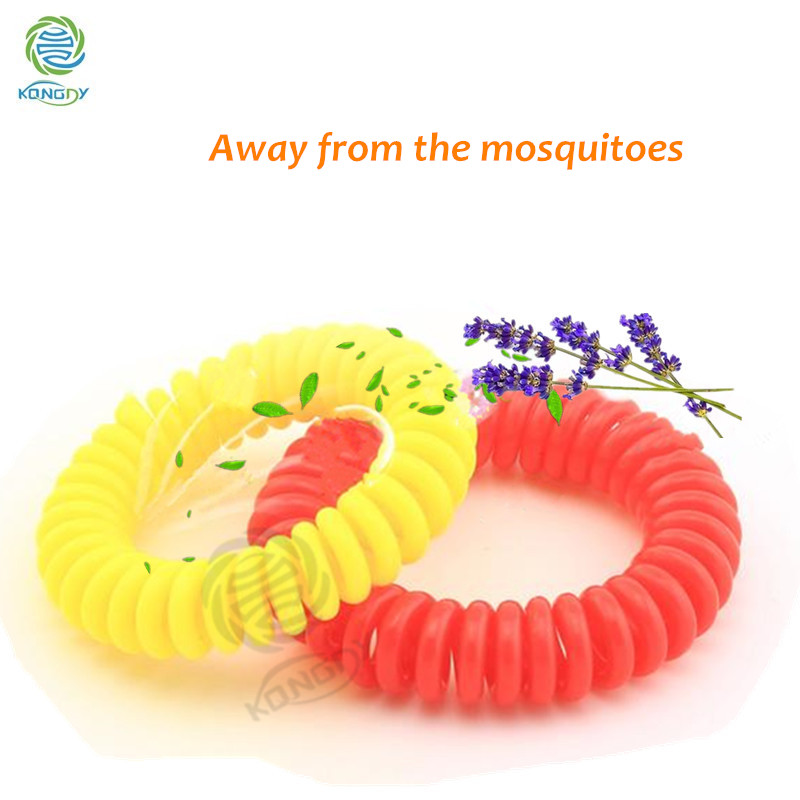 Kongdy Wholesale Safety Natural Citronella Oil Anti Mosquito repellent  bracelet