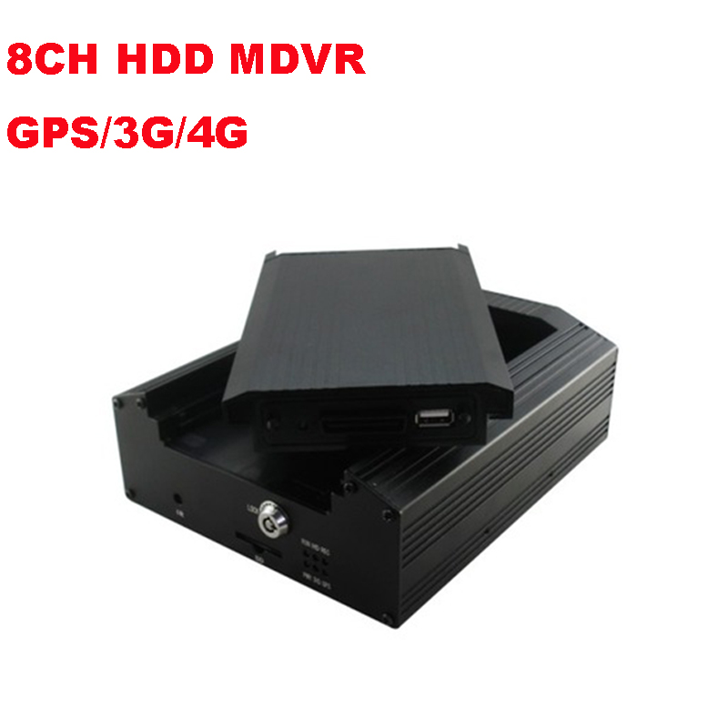 8CH 2TB HDD GPS 3G 4G Mobile DVR CAR DVR