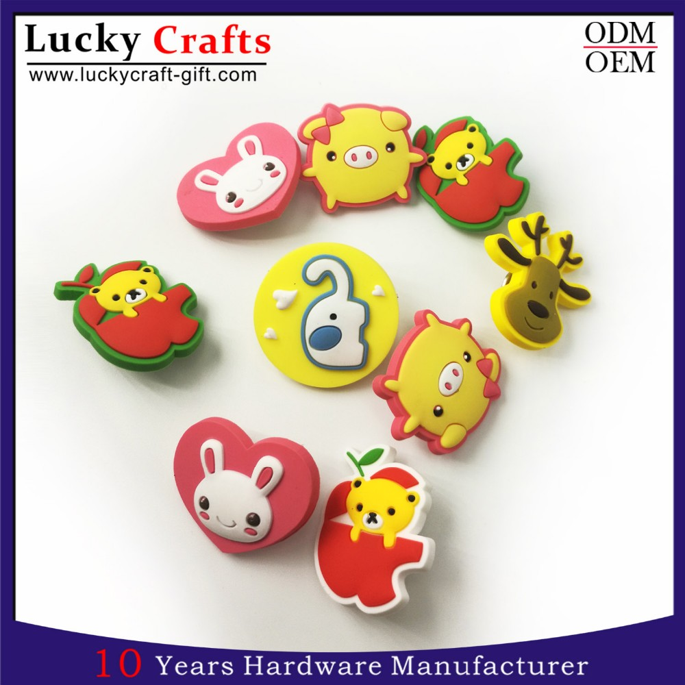 Wholesale Custom 3d Pvc Rubber Lapel Pin Badge Manufacturers China ...