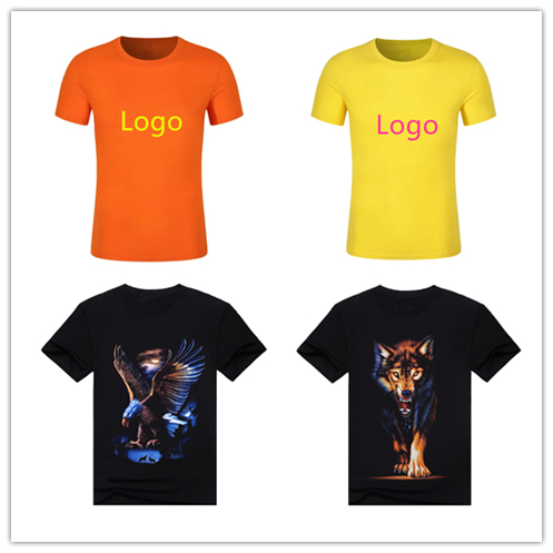 Custom T-Shirt Personalized Shirts Design Your Own Short Sleeve Tee for sale from factory