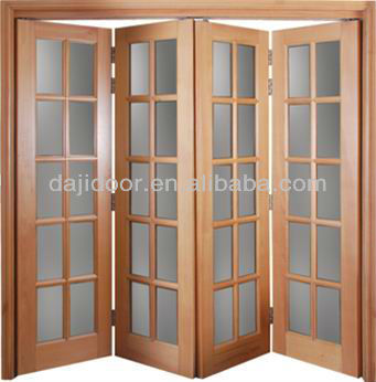 Soundproof Folding Interior Doors For Partition DJ S510