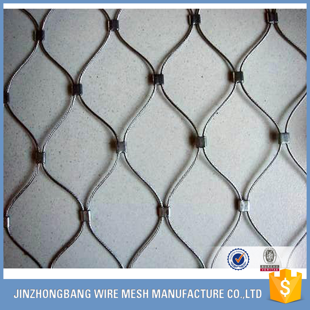 Stainless Steel Cable Woven Knotted Mesh, Stainless Steel Cable ...