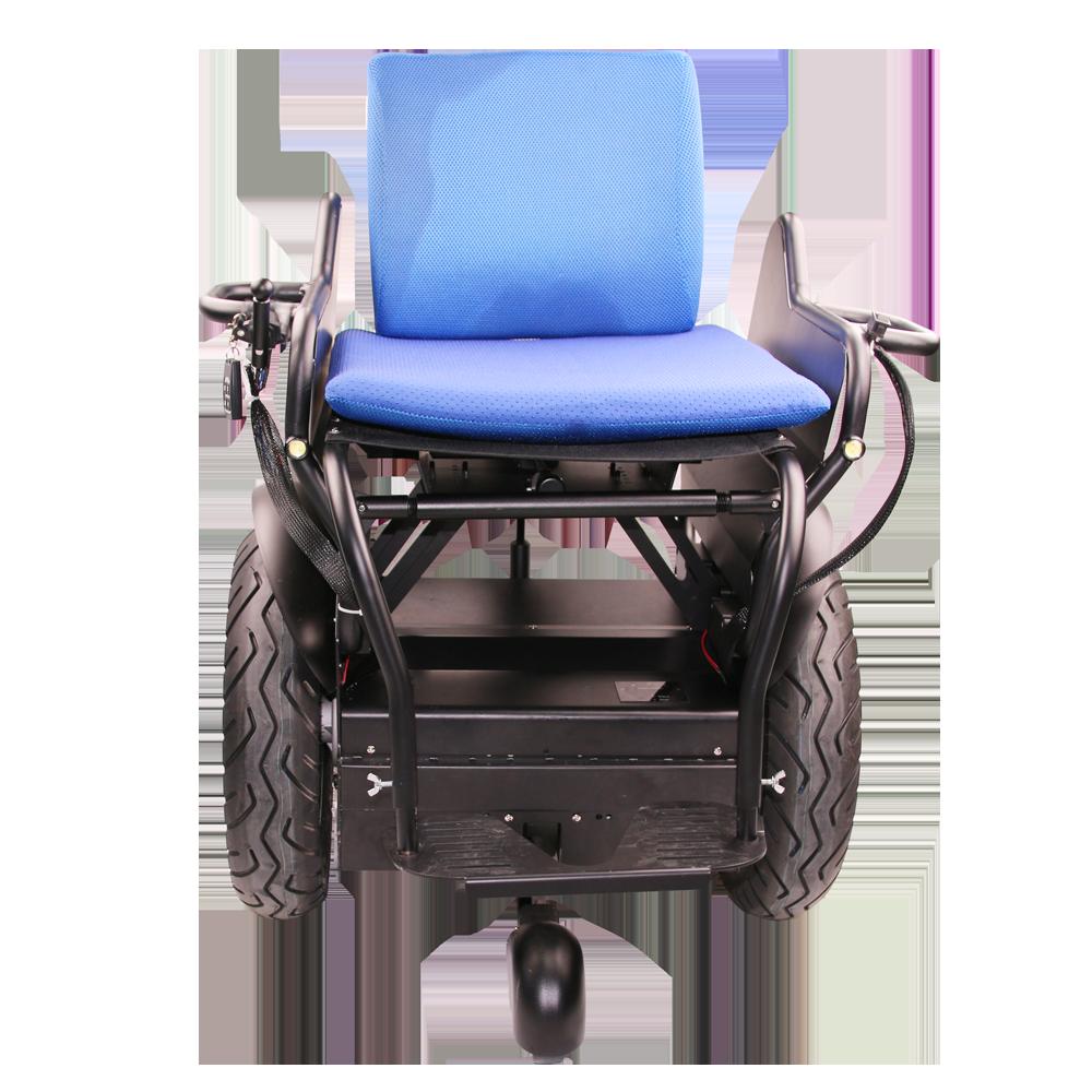 Electric Wheelchair With Feet Sensor/two Wheels Self Balancing ...