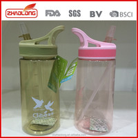 Wholesale promotional eco friendly insulated water bottles with drinking straw