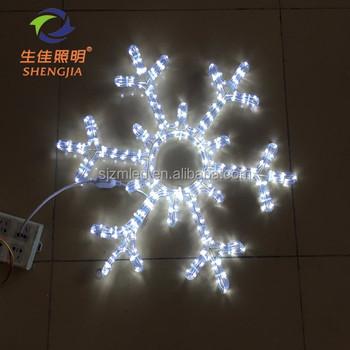 Weihnachten Urlaub Name 60 Cm Weiße Schneeflocke Licht ...