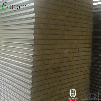 Rockwool Heat Resistant Wall Panels For Warehouse Free