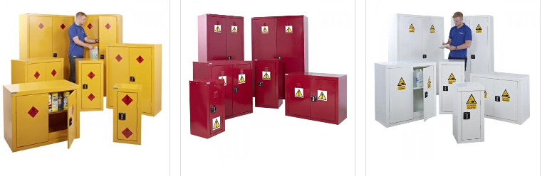 Lockable Hazardous Material Cabinet Multi-funtional Metal Storage Cabinet